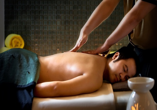 body massage session